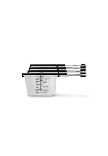 Dreamfarm black Levups - Scrape Level Measuring Cups (Black) 2C838HL02E9B46GS_1