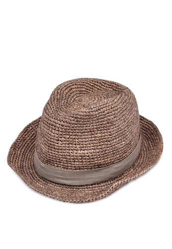 niko and ... brown Casual Hat F4605AC40098CBGS_1
