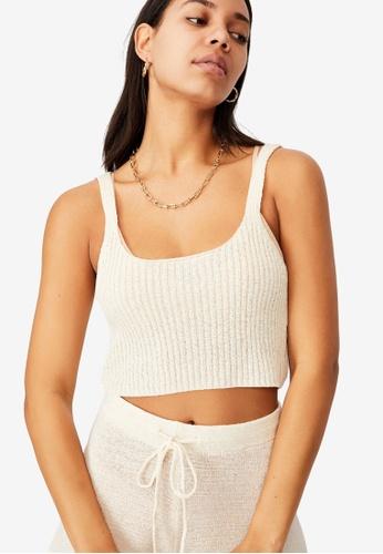 Cotton On white Match Me Cami Top 34679AA8FF280FGS_1