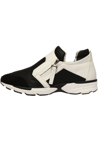 paperplanes Paperplanes-1333 Fashion Casual Side Zipper Patchwork Tall Up Sneakers Shoes US Women Size PA110SH62AVDHK_1