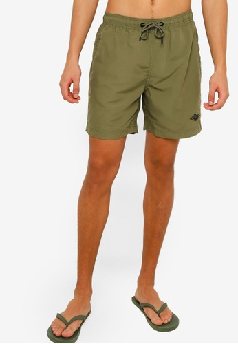 Superdry green Venice Swim Shorts 0D7BDUS769784EGS_1