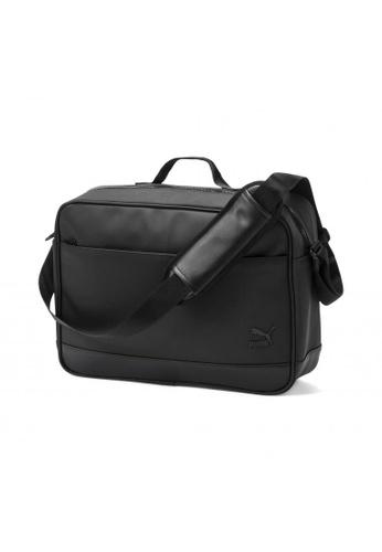 puma black Originals Reporter Bag D2BB9AC6ECCA38GS_1