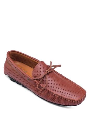 Spain 系列沖孔船型鞋, 鞋zalora開箱, 鞋