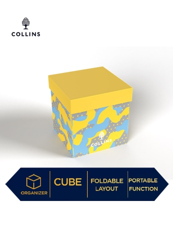 Collins yellow Collins 10-Cube Office Organizer Camo  ─  Lifestyle Products Collection  ─ Yellow E39CAHL6D7CE46GS_1