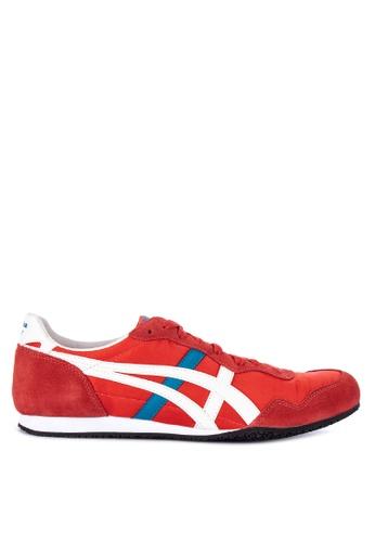 Onitsuka Tiger red and multi Serrano Sneakers 4B903SH7C0EB3DGS_1