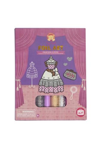 Tiger Tribe Foil Art - Princess Gowns 45162THB728520GS_1