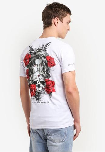 Graphite white Dahlia T-Shirt GR677AA0SCAIMY_1