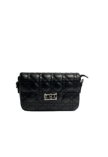 Lara black Women's Small Bag With Metal Lock CC810AC8A37F72GS_1