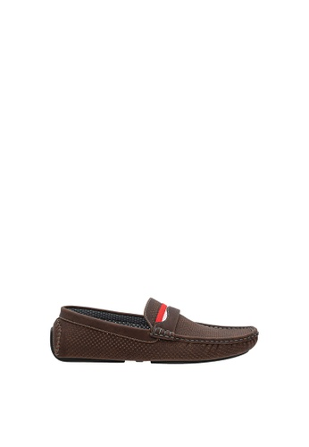 SEMBONIA brown SEMBONIA Men Synthetic Leather Loafer (Dark Brown) SE598SH0SZ89MY_1