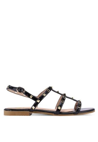 Carlton London black Sling Back Sandals 0FC10SH0C83158GS_1