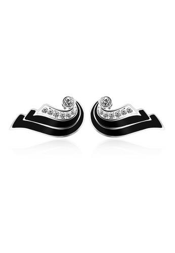 OUXI silver OUXI Earrings 21086 OU821AC99BKUMY_1