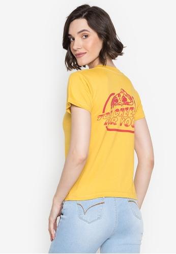 Artwork yellow Too Cheesy T-Shirt 64829AAD50B323GS_1