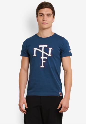 The North Face blue Bts Short Sleeve Tee TH274AA0S7J9MY_1