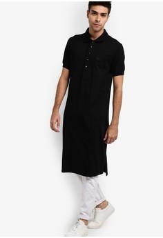 Image of Bradia Long Polo Shirt