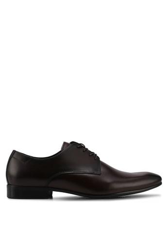 ALDO brown Tilawet Lace Up Shoes DA488SHF5A181CGS_1