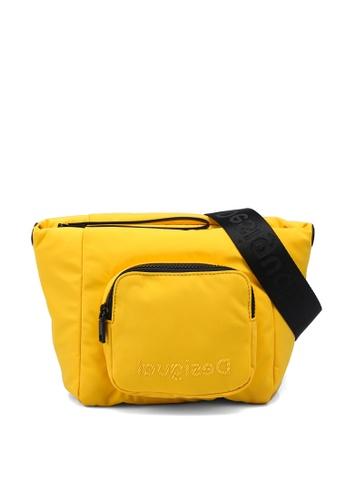 Desigual yellow Pocket Sling Bag 4A9E3AC137A51CGS_1