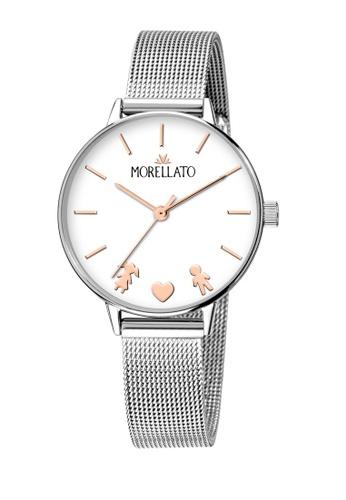 Morellato silver Ninfa Quartz Watch Silver Metal Band R0153141546 B18DAACE4C4E7AGS_1