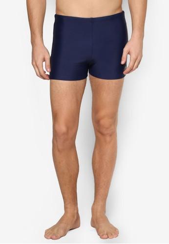 條紋飾短泳褲, 服飾, 沙灘褲及泳裝esprit hk分店短褲