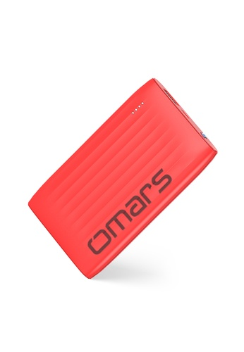 Omars red 5000mAh Portable Power Bank / Portable Charger With Torch Light A0EF5ESF4B6324GS_1