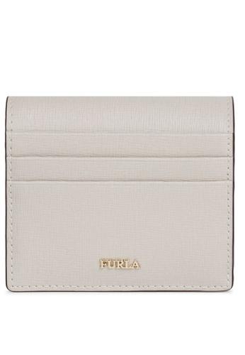 Furla white Babylon S Credit Card Case B4215AC28C0F06GS_1