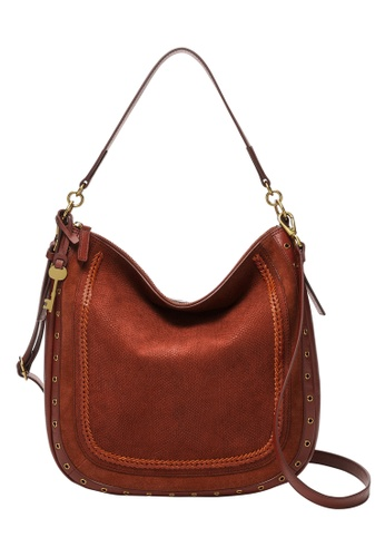 FOSSIL brown Jolie Hobo Bag ZB1582613 33415AC186B53CGS_1