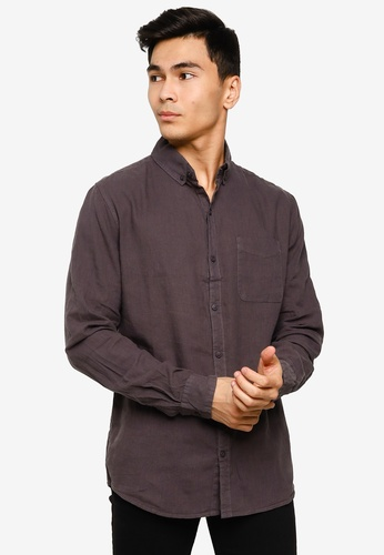 e9d556ca716 Buy Cotton On Premium Linen Cotton Long Sleeve Shirt Online on ZALORA  Singapore