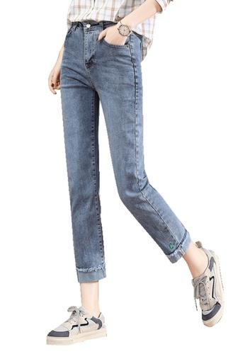 A-IN GIRLS blue Fashion Slim Jeans B62F6AA5C4D412GS_1