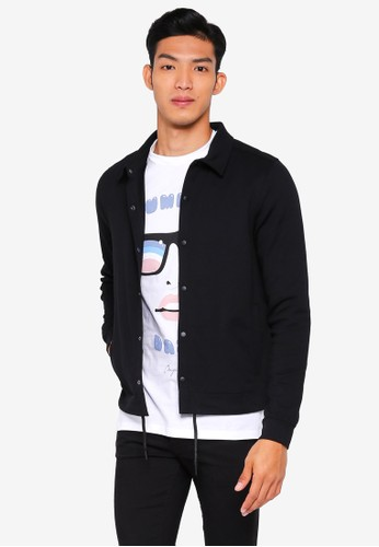 Jack & Jones black Holm Sweater Jacket C4FE5AA652B57FGS_1