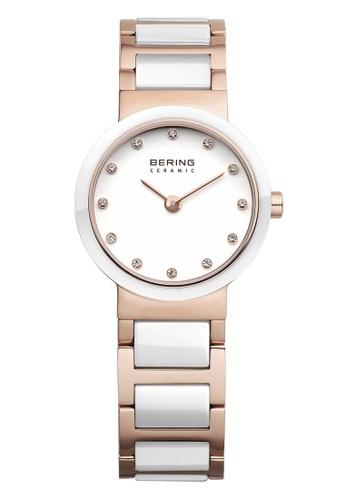 Bering gold Ceramic 10725-766 White 25 mm Women's Watch CB204AC5205CABGS_1