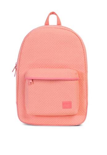 Herschel pink Lawson Woven Backpack HE958AC0K9YNPH_1
