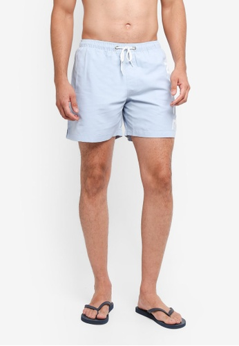 Nicce London blue Big Logo Swimwear Shorts CB612US01E7FB4GS_1