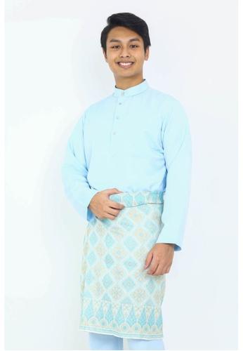 STARVILION blue Dominique Baju Melayu 99543AAC0711F9GS_1