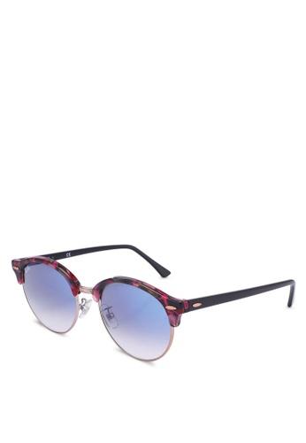 Ray-Ban 黑色 Icons RB4246F Sunglasses 7CD0FGL4D59C8FGS_1