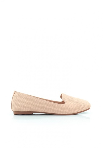 SHINE pink Square Toe Slip On SH554SH0GQHISG_1