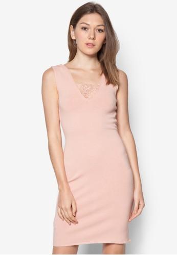 無袖貼身mango 門市連身裙, 服飾, 短洋裝