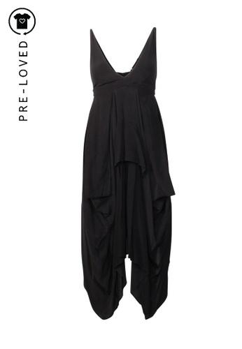 BALENCIAGA black Pre-Loved balenciaga Babydoll Midi Dress 19680AACB5A520GS_1