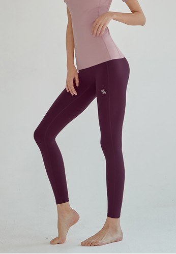 xexymix red and purple Everyday High Waist Leggings Neo Flexy in Magenta Purple 382ACAA5E3CECDGS_1