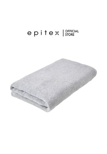 Epitex grey Epitex Anti Odor 100% Cotton Bath Towel - Gym Towel - Bathing Towel - Comfortable Towel (Misty Grey) F644CHL729A487GS_1