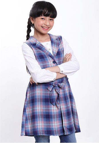 EXIT GIRL red Exit Girls Orlana Checked 32CB6KAF439ECAGS_1