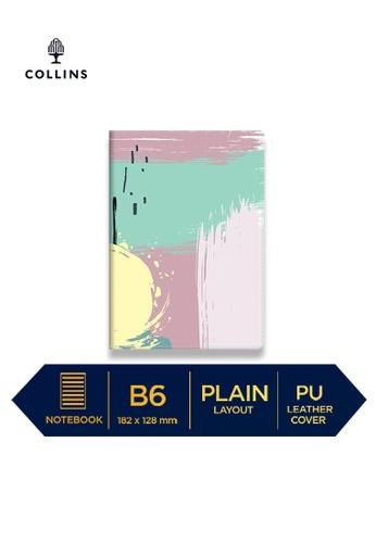 Collins blue Collins Palette   ─  Notebook B6 Plain Teal 590ADHLFD3EA57GS_1