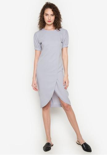 Verve Street grey Alex Dress VE915AA0JXHVPH_1