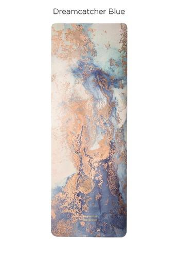 Sugarmat blue Dream Catcher No.3 Blue - Suede Travel Yoga Mat (1MM) 0BFFBSE51DFB1AGS_1