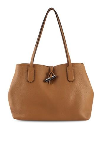 LONGCHAMP beige Roseau Shoulder Bag (zt) 508EEAC76C77FBGS_1