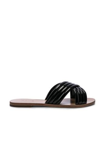 Raye black Ziggy Sandal A9D52SH0BB844EGS_1
