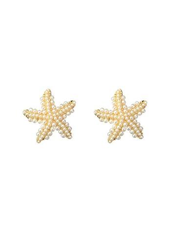 Kings Collection gold Little Starfish Earrings (KJEA20033) CCFCFAC7BF801CGS_1