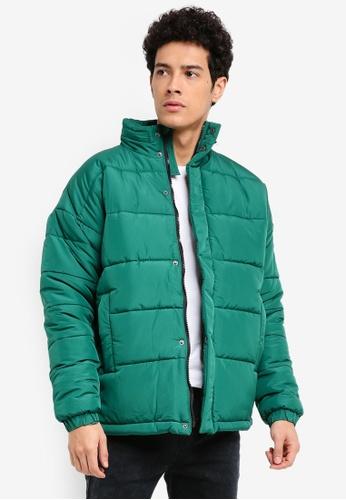 Factorie green Arbour Puffer Jacket 804B7AA05BAA0EGS_1