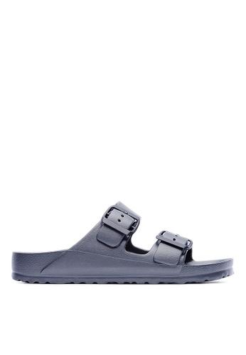 Life8 grey Casual Lightweight Floating Slippers - 09595 - Grey LI283SH70FANSG_1