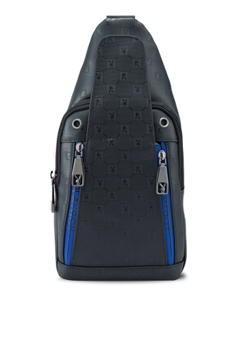 Playboy black Chest Bag 92377AC9C90A32GS_1