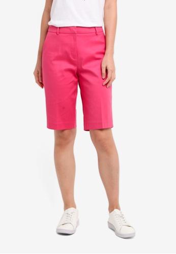 ESPRIT pink Woven Regular Shorts BA9B5AA541E4C0GS_1