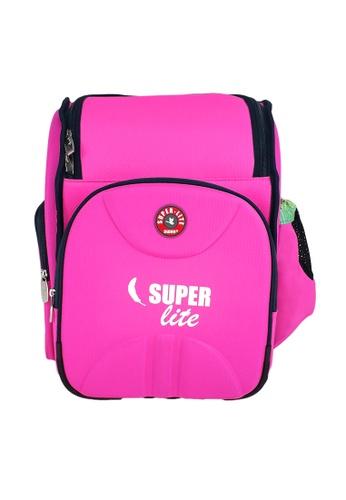Swan pink Swan Kid Children School Bag SUPER LITE (Pink) Spinal Protection Back Support  Student's Bag 59778KC51E2642GS_1